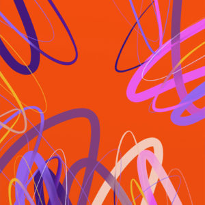Abstract paintings, art prints, Avenida Series by Mark Landkamer